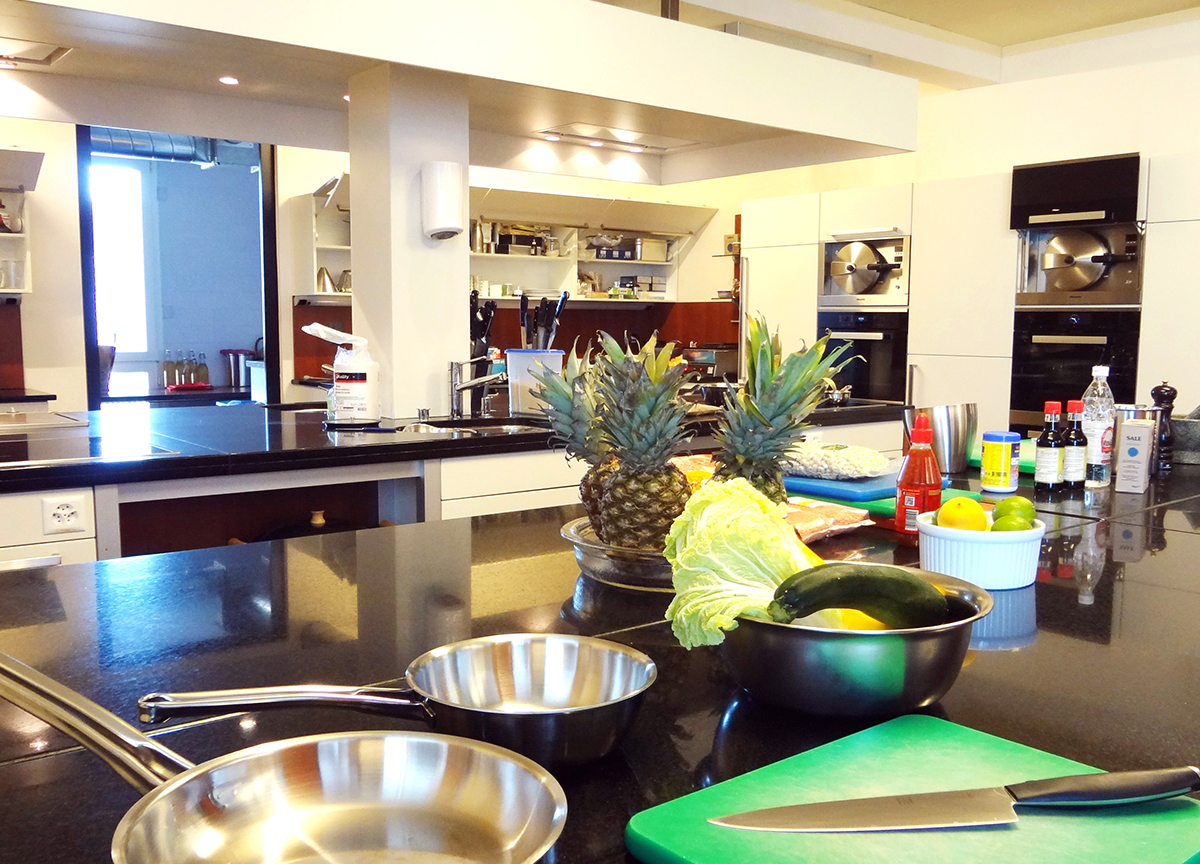 Kochvorlagentisch